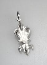 """""""Kleine Augsburger"""" - Fuggerlilie, 925/- Sterling Silber, glänzend"""