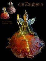 KURS Elfe mit Licht im Kleid aus Powertex 2 Kurstage Total 4 Std. Fr. 135.- inkl Material
