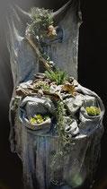 Kurs Betonstuhl ODER Tisch mit Bepflanzung für Garten, inkl. Bepflanzung 2 Abende total 3 Std. inkl. Mat