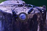 Armband mit Vergissmeinnicht und Härchen - bronzefarben 901