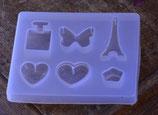 Silikonform mit diversen Formen, *Mehrere Varianten verfügbar