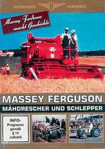 Massey Ferguson - Mähdrescher und Schlepper