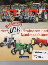 Der Bildatlas der DDR Traktoren und Landmaschinen