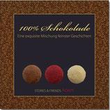 100% Schokolade: Eine exquisite Mischung feinster Geschichten (1 CD)