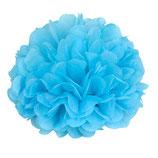 Pompom hellblau, 30 cm