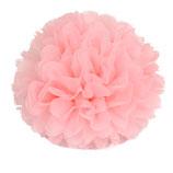 Pompom rosa, 45 cm