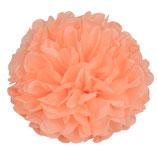 Pompom pfirsich, 30 cm
