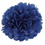 Pompom dunkelblau, 35 cm