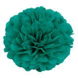 Pompom dunkelgrün, 45 cm