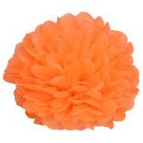 Pompom orange, 20 cm