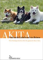 """Buch """"Akita Noch mehr Lächeln auf vier Beinen"""""""