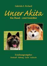 "Buch ""Unser Akita"""