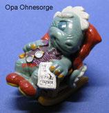 Die Dapsy Dinos Family von 1997  -  Opa Ohnesorg  - mit BPZ  -  4x