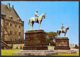 AK Goslar Standbilder an der Kaiserpfalz   18/18