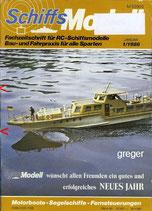 Schiffsmodell  1/86 d  abl