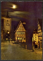 AK Rothenburg ob der Tauber, Plönlein,        34/42