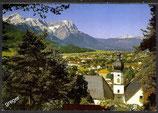 AK Garmisch Partenkirchen Panorama mit Kirche St. Anton   15/49