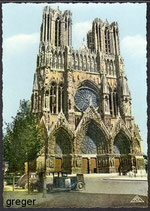 AK Reims La Cathédrale    51m
