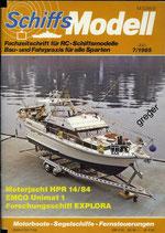 Schiffsmodell 7/85 b
