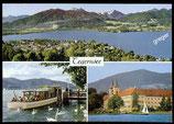 AK Mehrbildkarte vom Tegernsee   73/43