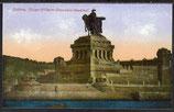 AK Coblenz Kaiser Wilhelm Provinzial Denkmal   12/39