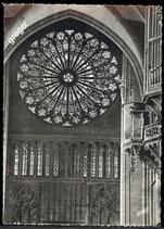 AK Strasbourg Die Rosette der Kathedrale    58/35