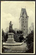 AK Deutsches Reich 1933 Tangermünde Kapitelturm Denkmal   19/29
