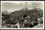 AK D.Reich von 1933 Berchtesgaden mit Watzmann u. Steinernem Meer   32/30