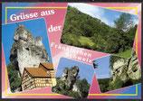 AK Grüsse aus der Fränkischen Schweiz, Mehrbildkarte     21/15