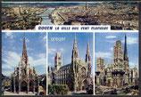 AK Rouen, Mehrbildkarte    58n