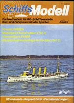 Schiffsmodell 4/83 d  abl