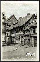 AK Das kleinste Haus in Wernigerode   31f