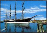 AK Travemünde, Hafen mit Segelschulschiff Passat    41/3