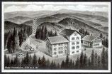 AK Deutsches Reich 1941 Badenweiler-Hotel Hochblauen    3/46