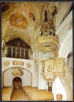 AK Bruckmühl Pfarrkirche Weihenlinden, Kanzel und Orgel   29/42