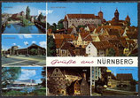 AK Grüße aus Nürnberg, Mehrbildkarte     77p