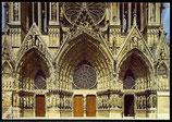 AK Cathédrale de Reims, les Trois Porails    60/34
