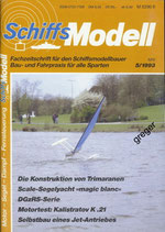Schiffsmodell 5/93 a
