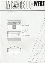 MW Planbeilage Bauplan Jahrgang 1979