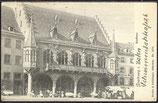 AK Deutsches Reich 1906 Freiburg Kaufhaus   14/30