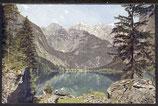 AK D. Reich postal. Gelaufen Berchtesgaden, Obersee   32/25