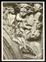 Gelnhausen, Marienkirche, Das Jüngste Gericht in den Zwickeln der Lettnerbögen    75/15