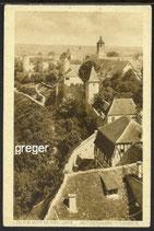 AK Rothenburg  Blick vom Burgtor     15b