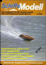 Schiffsmodell 6/86 b