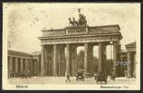 AK Deutsches Reich, das Brandenburger-Tor in Berlin, vom 20.10.1926     97e