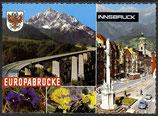 AK Innsbruck Europabrücke, Mehrbild   30/13