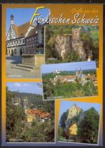 AK Grüße aus der Fränkischen  Schweiz,  Mehrbildkarte   21/16