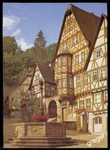 Postkarte  Miltenberg, im Schnatterloch   68/4