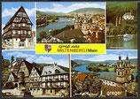 AK Gruß aus Miltenberg am Main, Mehrbildkarte    59p