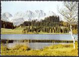 AK Motiv am Schwarzsee bei Kitzbühel, mit Kaisergebirge  28/26